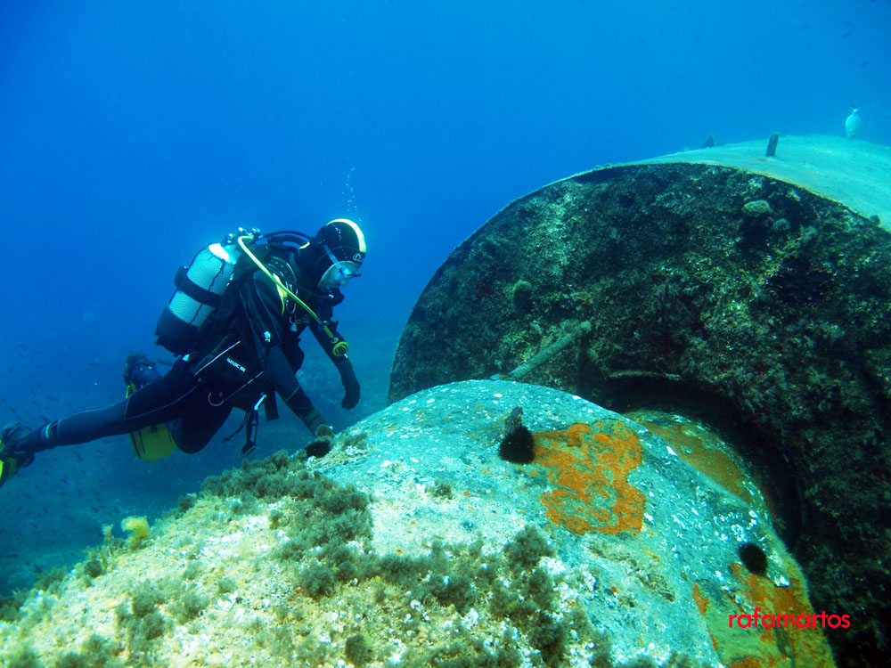 Buceo en Ibiza. Faro de Santa Eulalia   Buceo y Snorkel