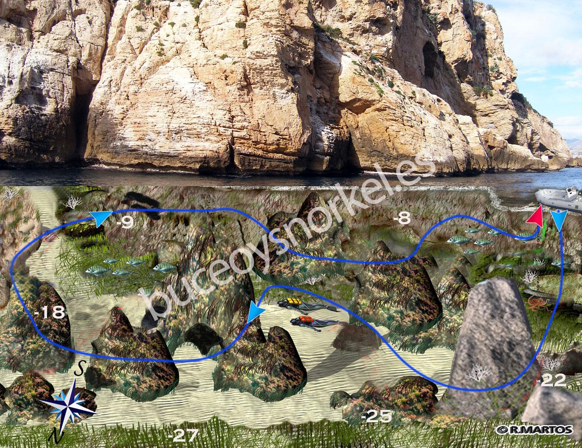 Buceo en los Arcos de Benidorm | Buceo y Snorkel