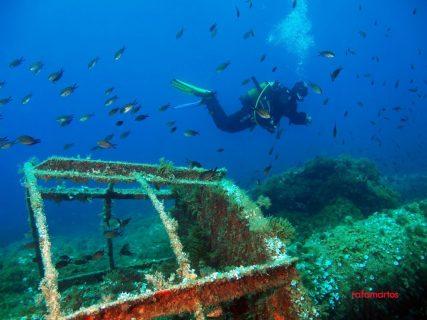 Buceo en Ibiza. Faro de Santa Eulalia