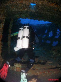 Buceo en el Carbonero de Cabo de Palos