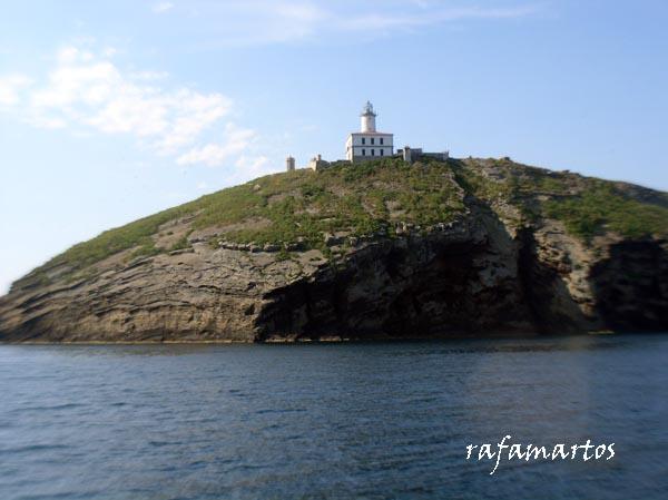 Buceo en la isla Grossa de Columbretes