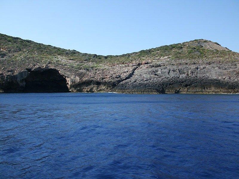 Buceo en la isla Tagomago de Ibiza