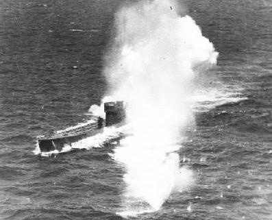 El submarino U77 de Calpe