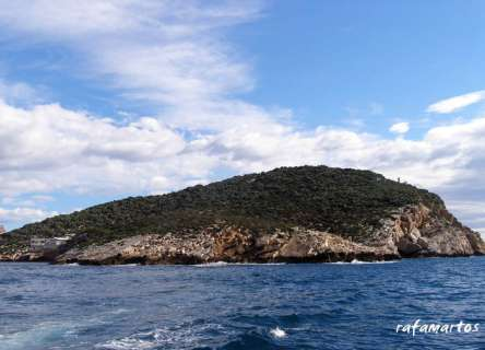 Punta garbi, isla de Benidorm