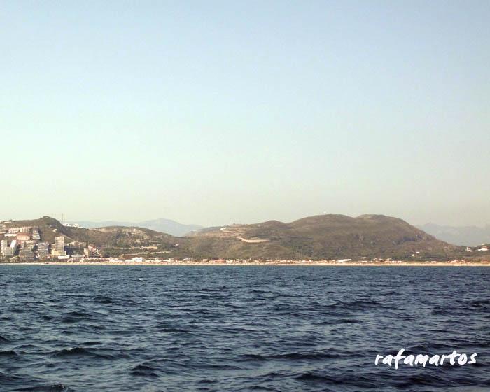 litoral de cullera