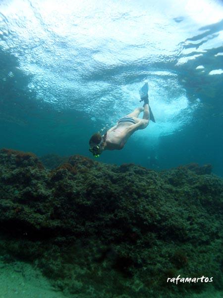 Snorkel en Benissa