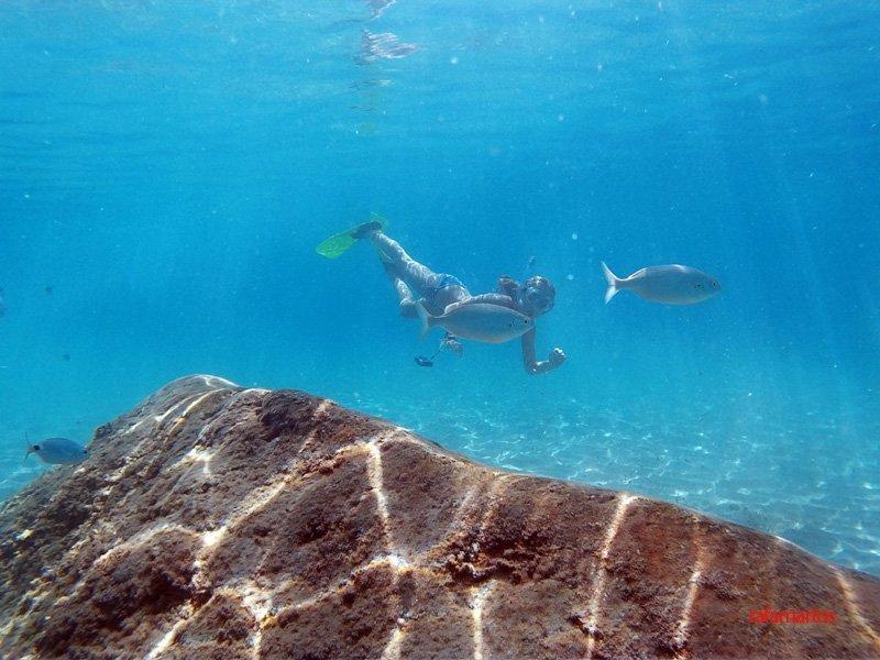 Snorkel en Torre Ambolo de Xàbia