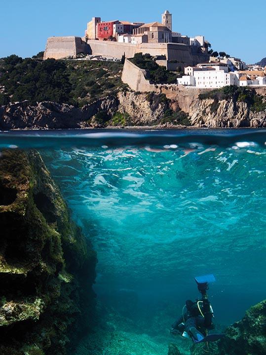 Mejor buceo de Ibiza